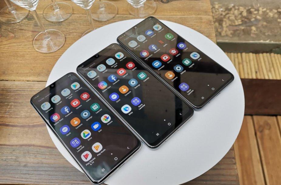 """Naujieji """"Samsung"""" A serijos išmanieji telefonai"""