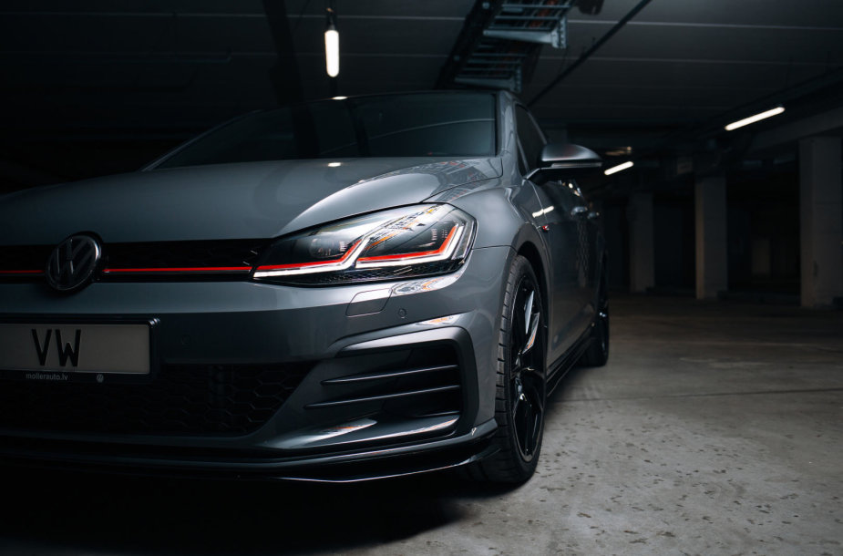 """VW Golf GTI"" pristatymas"