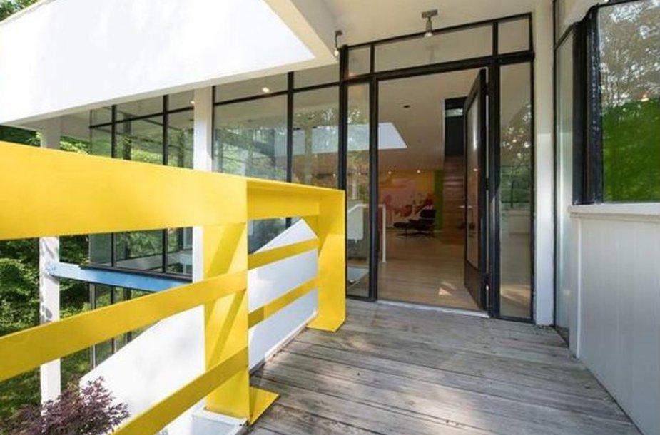 Amerikoje parduodamas pirmasis architekto M.Graves'o projektuotas namas