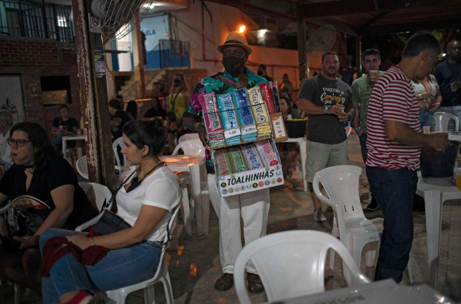 Rio de Žaneiras koronaviruso pandemijos metu