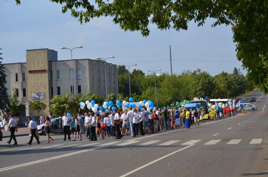 Jonavos gyventojai ir svečiai šventė 265-ąjį miesto gimtadienį.