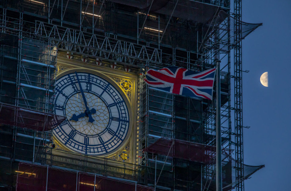 """Didysis Benas """"Brexit"""" naktį tylės."""