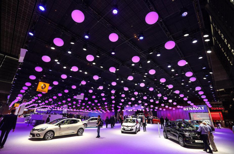 Paryžiaus automobilių parodoje
