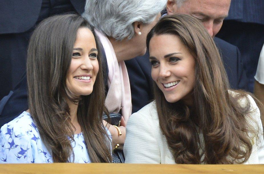 Pippa Middleton ir Kembridžo hercogienė Catherine