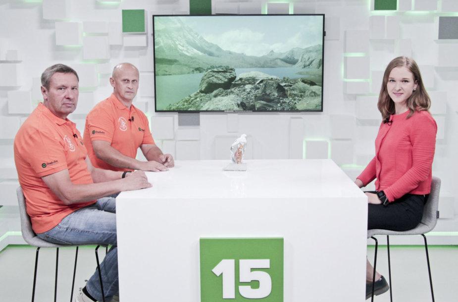 15min studijoje - Lietuvos utratriatlonininkas Vidmantas Urbonas