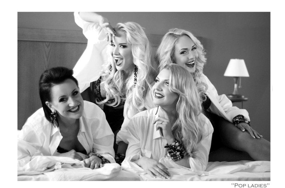 """""""Pop Ladies"""": Katažina Nemycko, Natalija Bunkė, Monika Šedžiuvienė ir Oksana Pikul-Jasaitienė"""