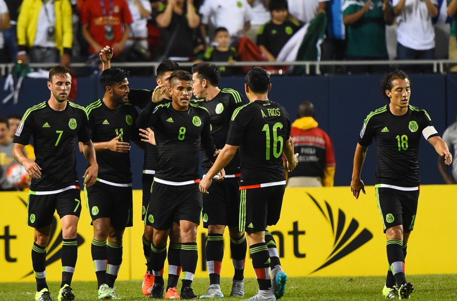 Meksikos futbolininkai