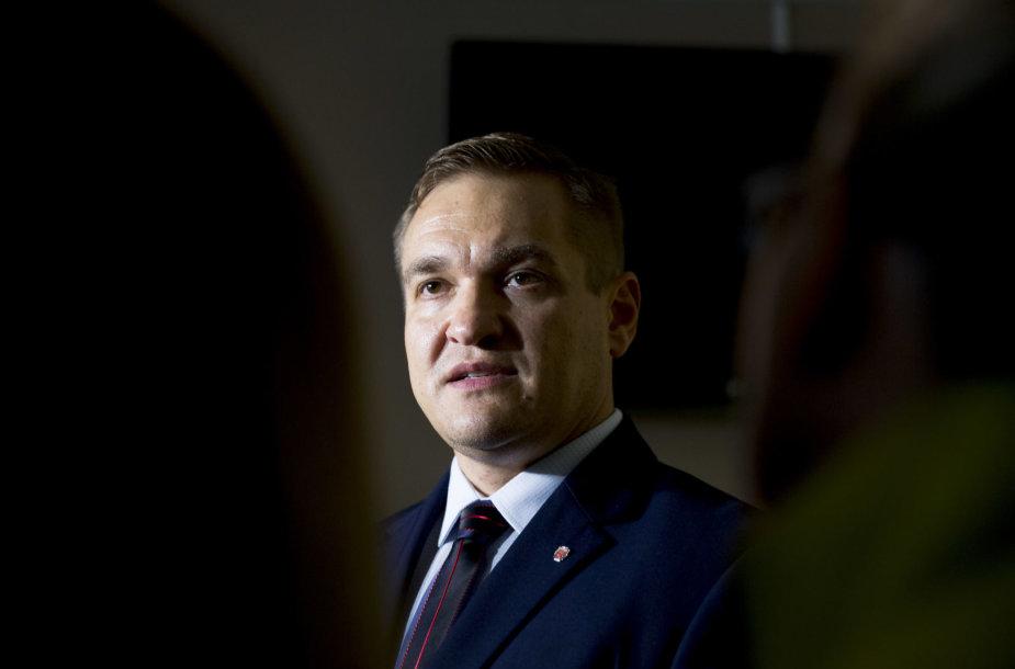Ministro Eimučio Misiūno vizitas migracijos departamente