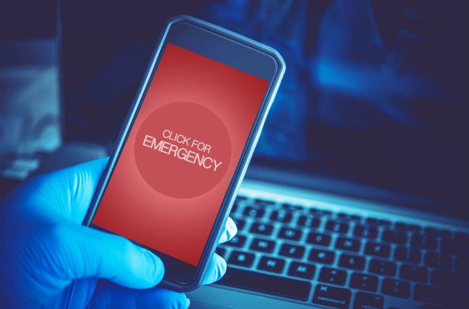 Išmanusis telefonas gali įveikti ir pavojus