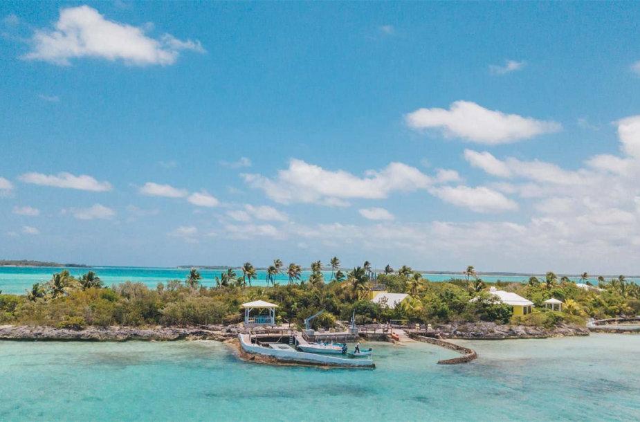 Parduodama sala Karibuose
