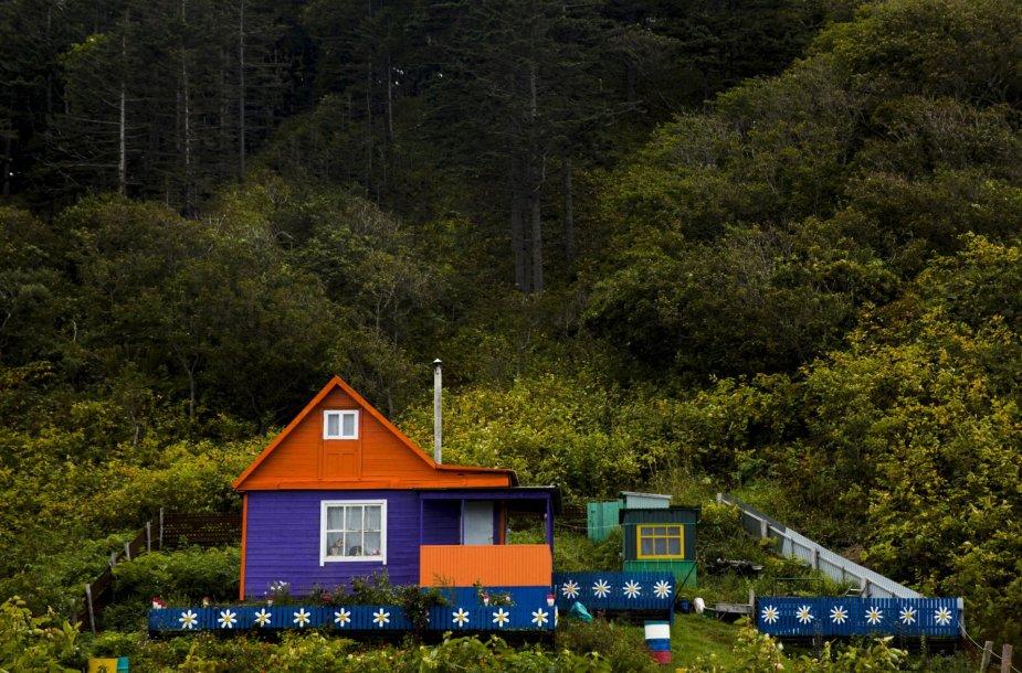 Namas Kurilų salose