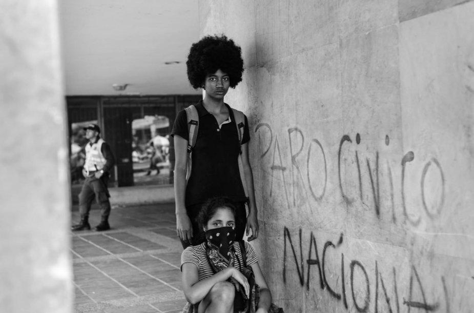 Protestai Kolumbijoje