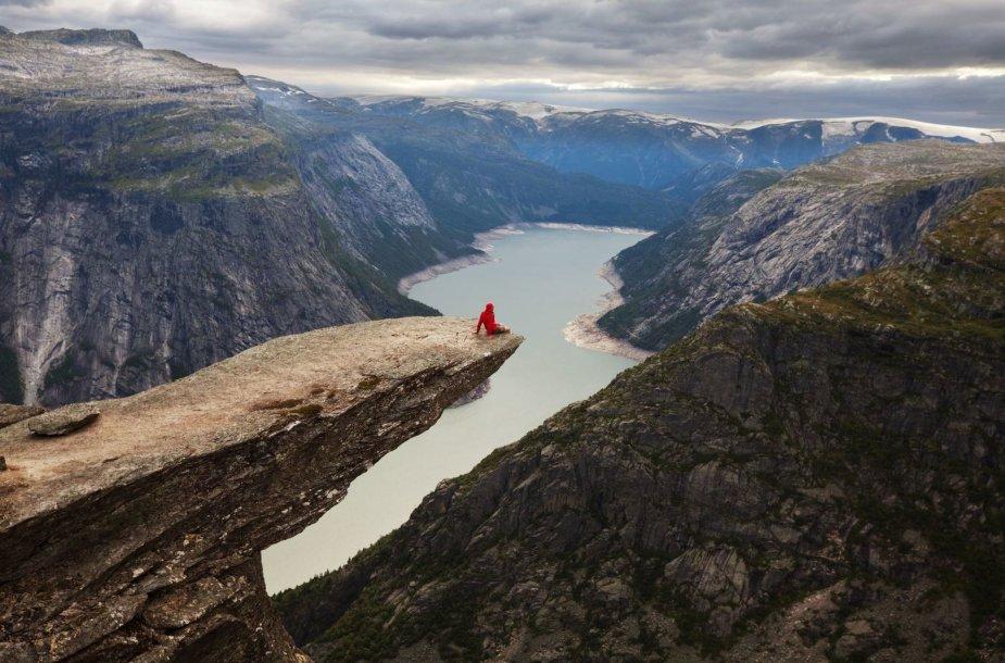 Trolio liežuvis Norvegijoje