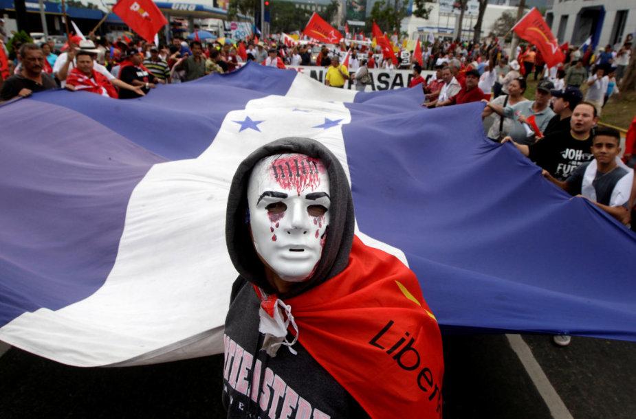 Protestas Hondūre