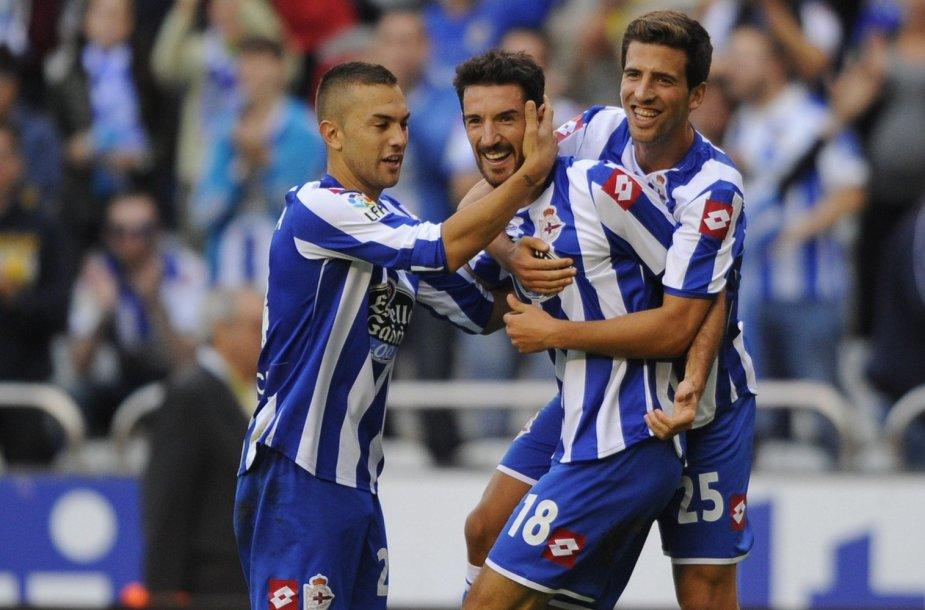 """La Korunjos """"Deportivo"""" komanda"""