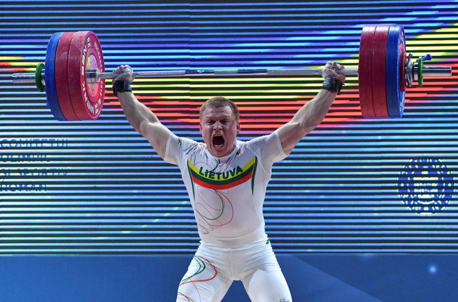 Žygimantas Stanulis 2018 m. Europos čempionate iškovojo sidabrą.