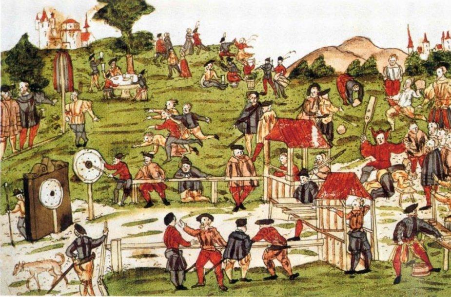 Lankininkų turnyras Sankt Galene, 1520 m.