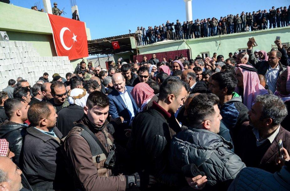 Turkijos vidaus reikalų ministras Suleymanas Soylu