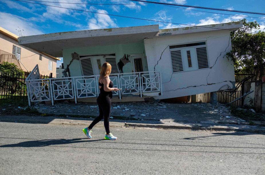 Žemės drebėjimas Puerto Rike