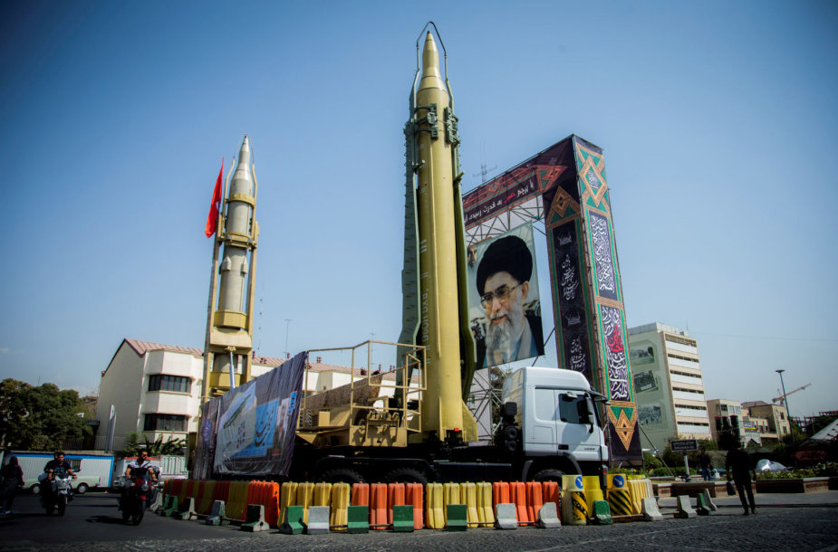 Iranas grasina pats atšaukti branduolinį susitarimą