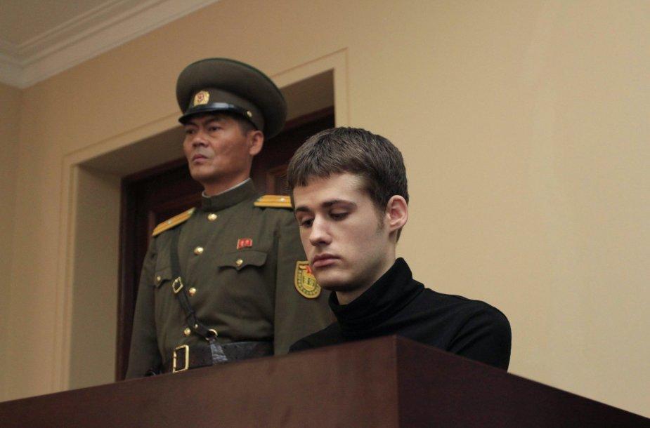 Matthew Milleris teisme Šiaurės Korėjoje
