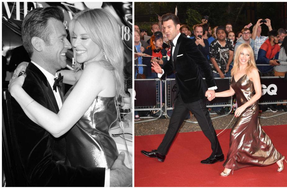 Kylie Minogue ir Paulas Solomonsas