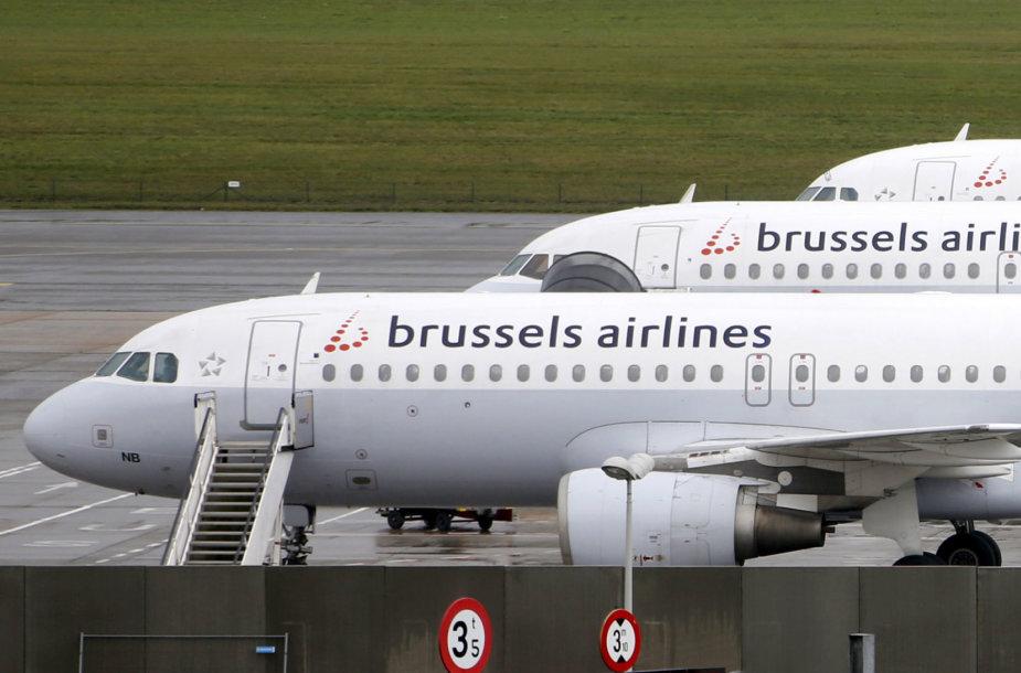Briuselio avialinijų lėktuvai