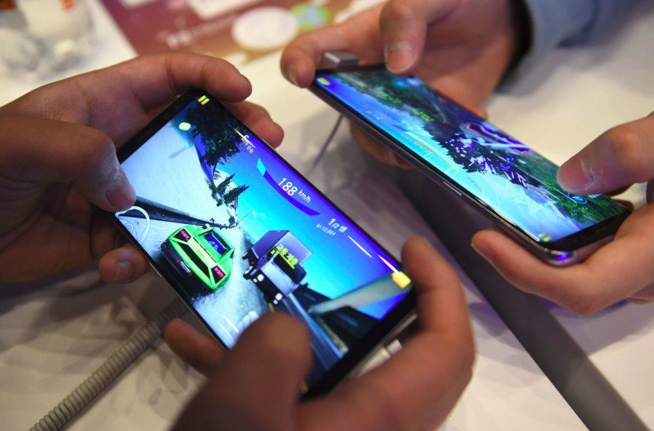 Žaidimai išmaniuosiuose telefonuose