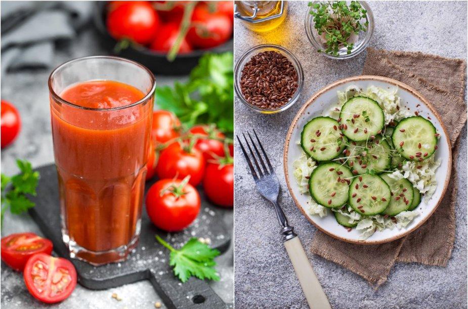 Lengvi patiekalai iš daržovių