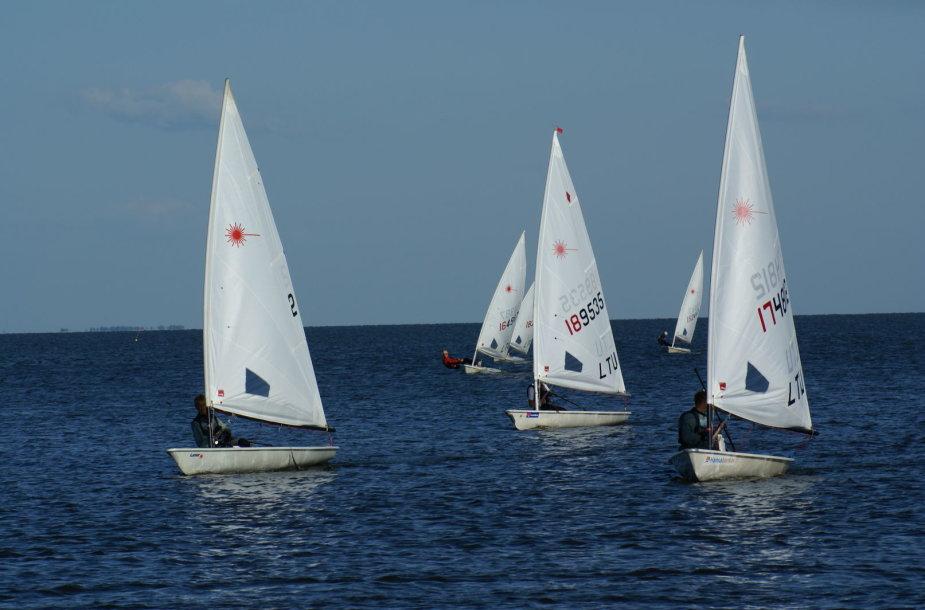 """Europos """"Laser"""" jachtų klasės taurės varžybos"""