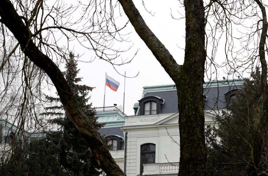 Rusijos ambasada Prahoje