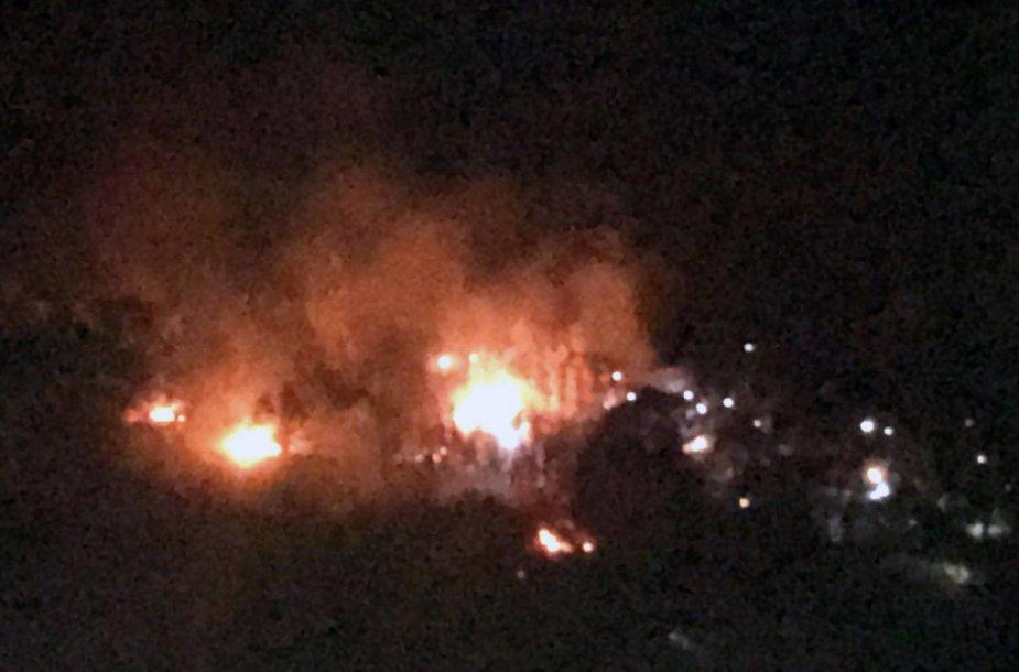 Rytų Turkijoje nukrito kariuomenės sraigtasparnis