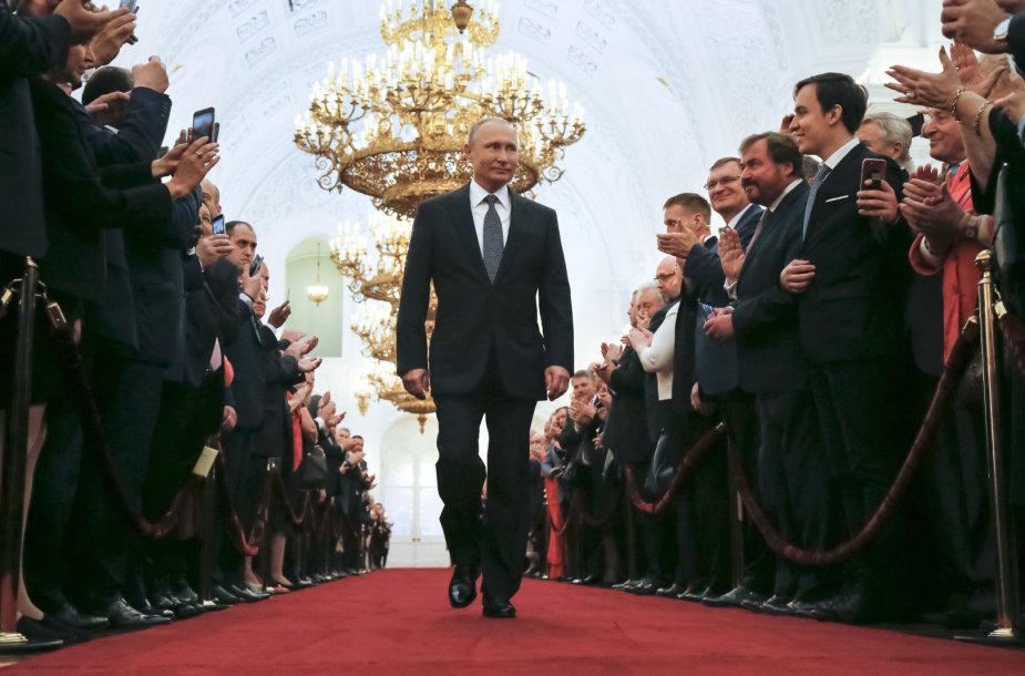 Prezidento Putino inauguracijos 4-ai kadencijai ceremonija