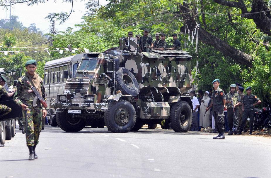 Šri Lankos kariai