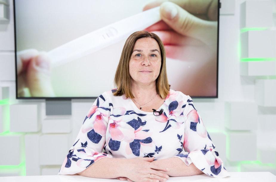 15min studijoje – embriologė Živilė Gudlevičienė