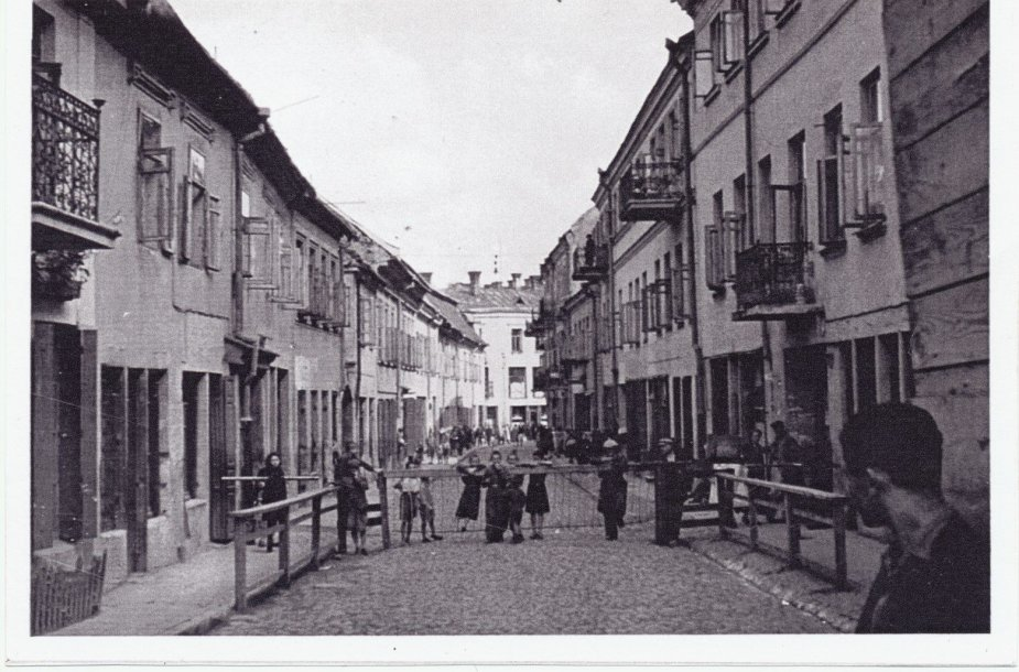 Vilniaus getas. Rūdninkų gatvė. Data nenustatyta