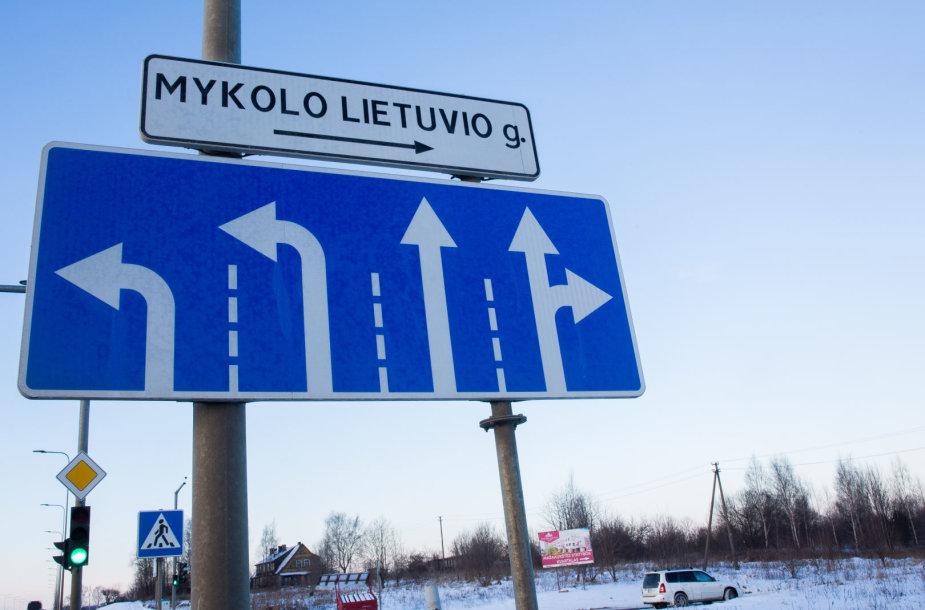 Mykolo Lietuvio gatvė