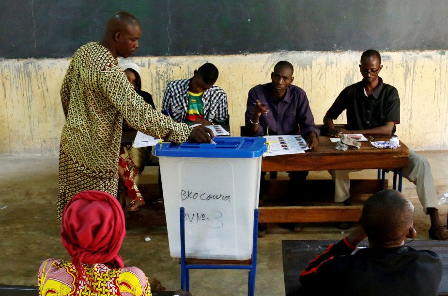 Rinkimai Malyje