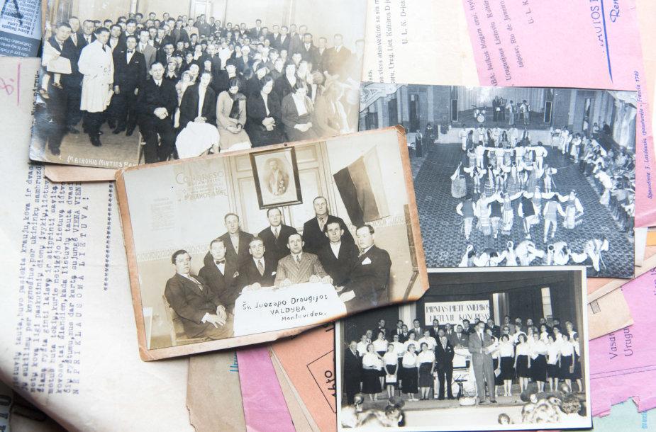Urugvajaus lietuvių sukaupti archyviniai dokumentai