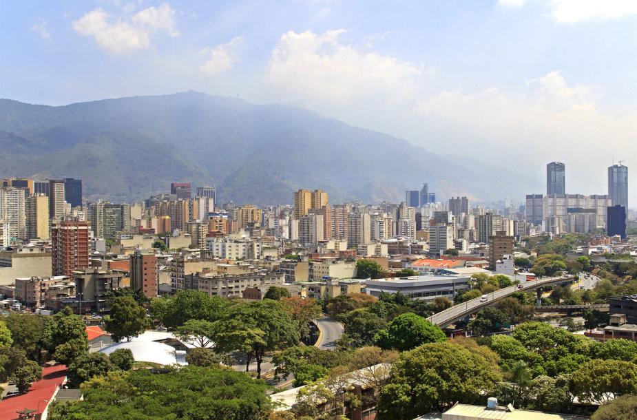 Venesuelos sostinė Karakasas