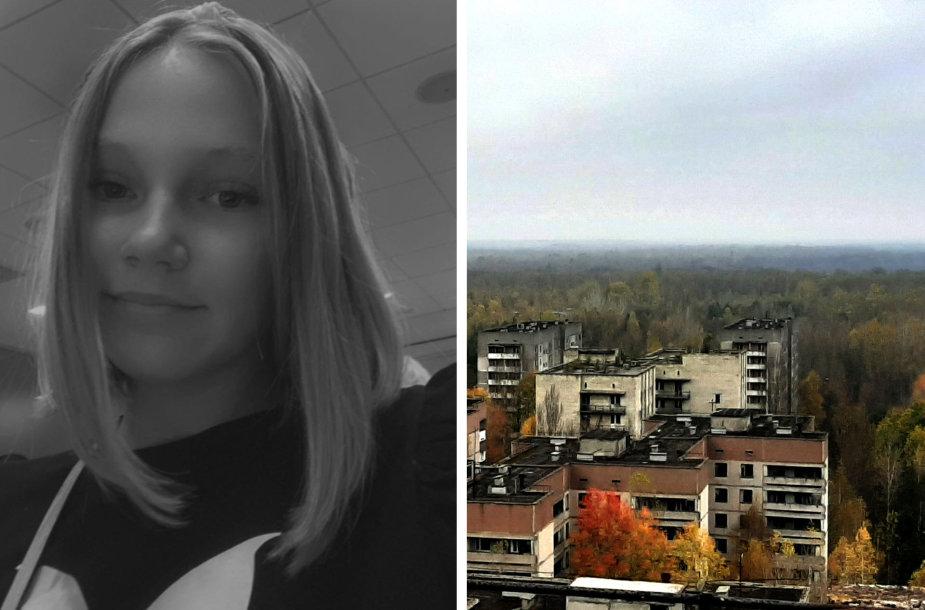 Erdeina Jasiliūnaitė rašo knygą apie Černobylį