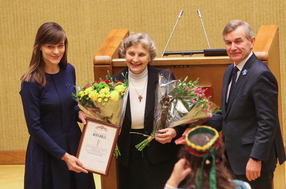 Nijolė Sadūnaitė, Radvilė Morkūnaitė ir Viktoras Pranckietis