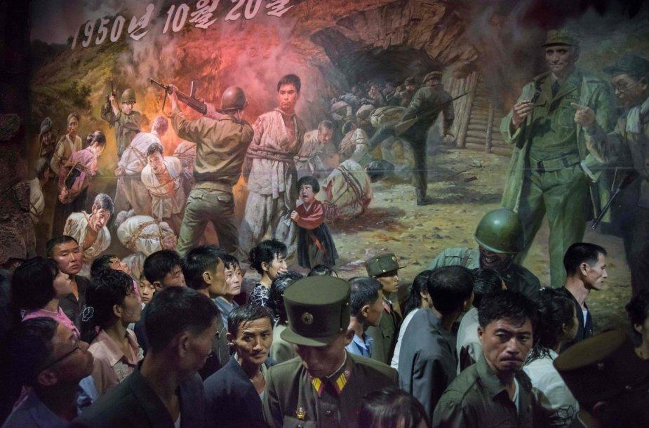 Amerikiečių karo žiaurumo muziejus Sinčone