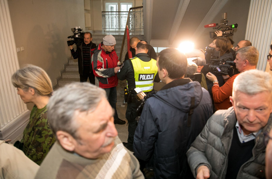 Sujudimas Vilniaus apygados teisme