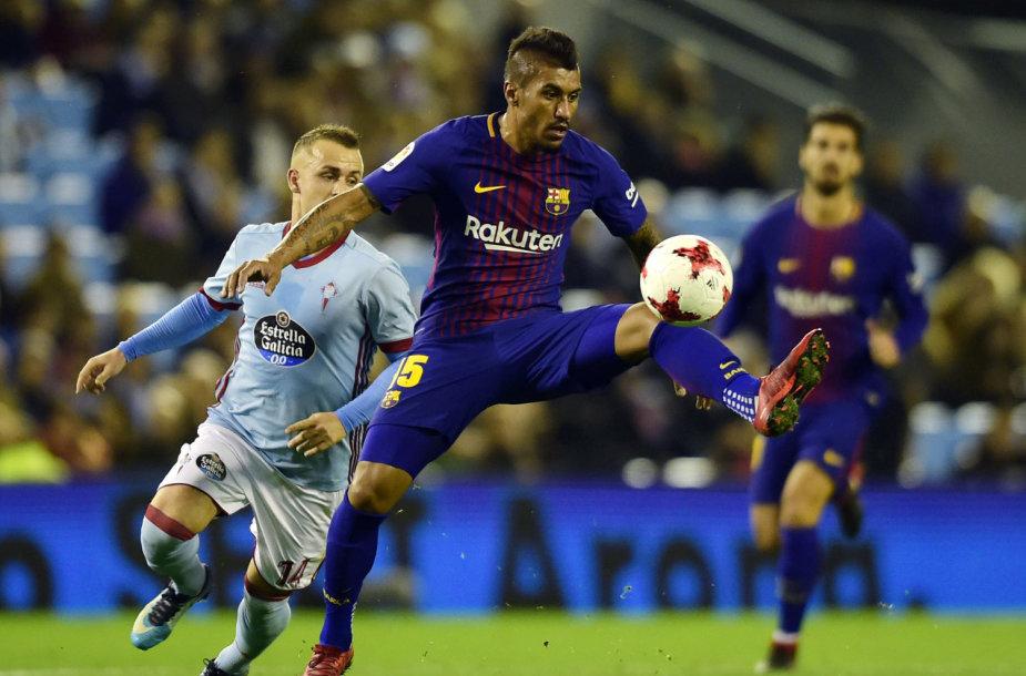 """""""Barcelona"""" futbolininkai tenkinosi lygiosiomis"""