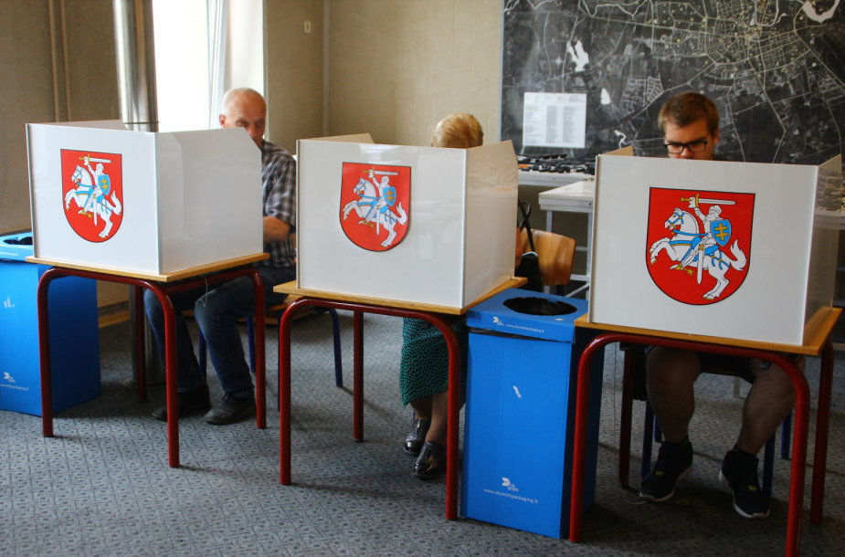 Balsavimas Panevėžyje