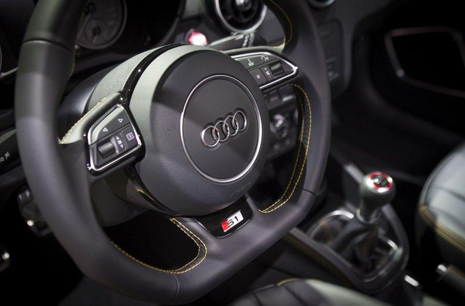 """""""Audi S1"""" sugrįžta Ženevoje"""
