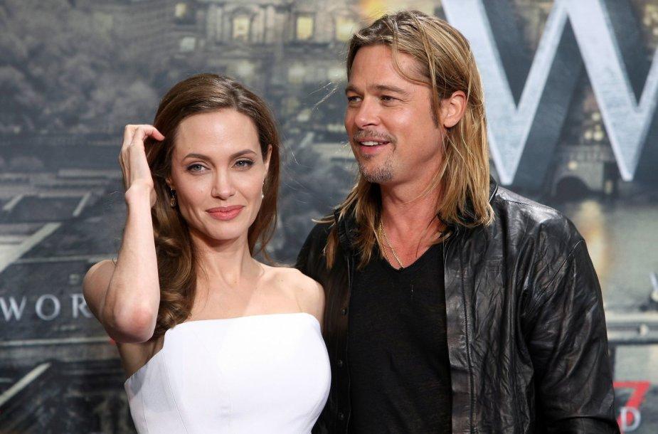 Bradas Pittas ir Angelina Jolie (2013 m.)