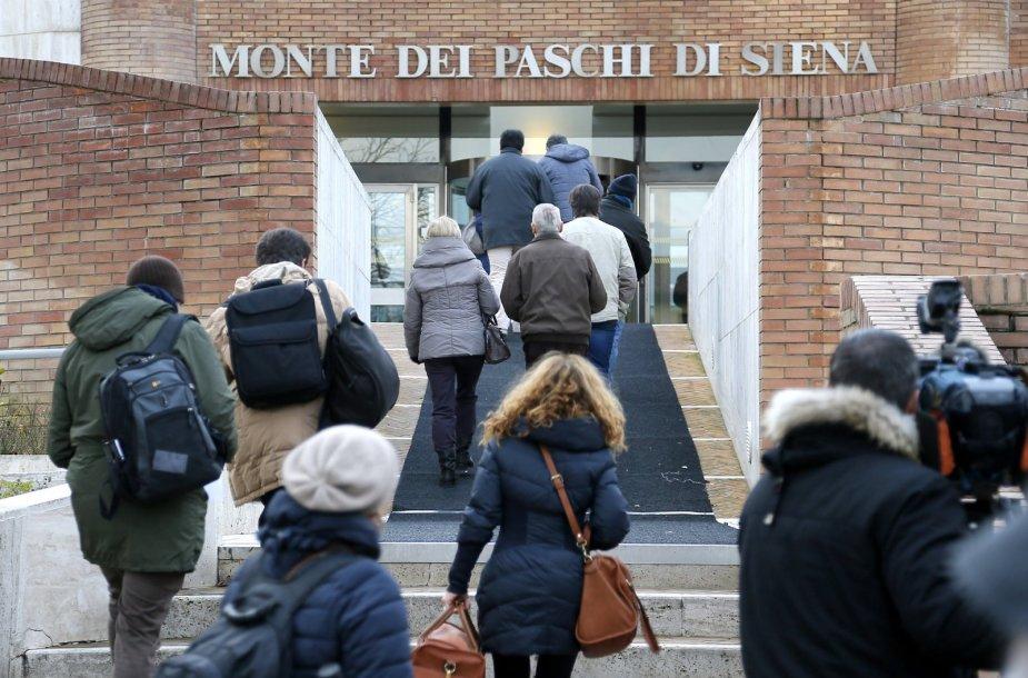 """Italijos bankas """"Banca Monte dei Paschi di Siena"""""""