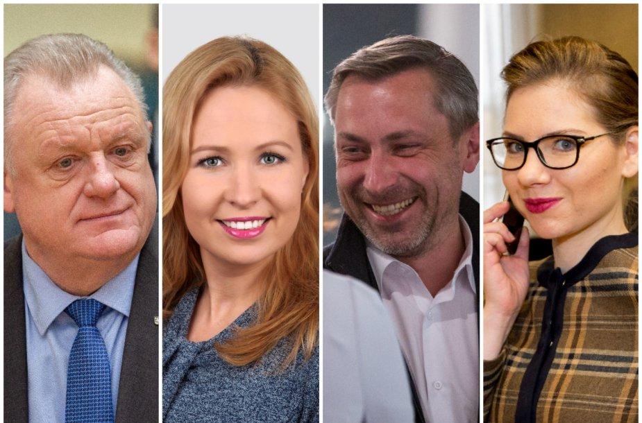 Algirdas Stončaitis, Gintarė Žukaitė, Tomas Beržinskas, Karolina Frolovienė